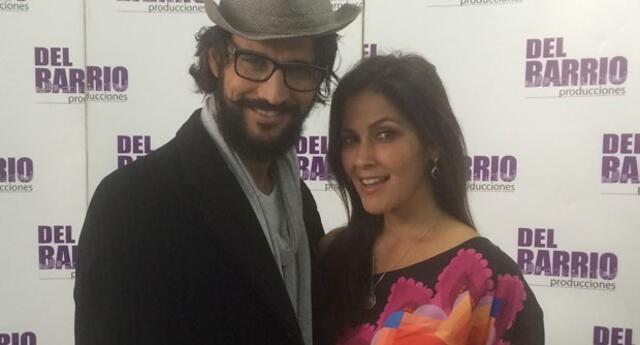 Pierina Carcelén y su esposo Mauro Rodríguez