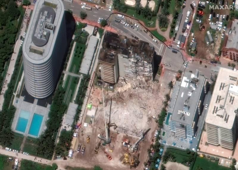 Derrumbe en Miami: Champlain Towers